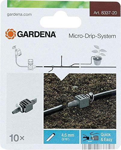 Verbinder Gardena, Micro-Drip-System, Quick & Easy, 4,6 mm (3/16\