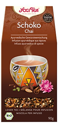 Yogi Schoko Chai BIO 4 Packungen à 90 g, loser Tee