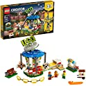 595-Piece LEGO 31095 CREATOR 3-in-1 Fairground Carousel (2019 set)