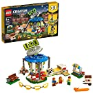 LEGO Creator 3in1 Fairground Carousel 31095 Building Kit (595 Pieces)