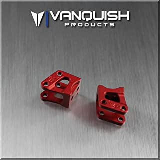 Vanquish Axial AR60 Axle Shock Link Mounts Red Anodized VPS04722