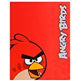 Angry Birds Red Fleece Throw/Blanket 120 x 140cm