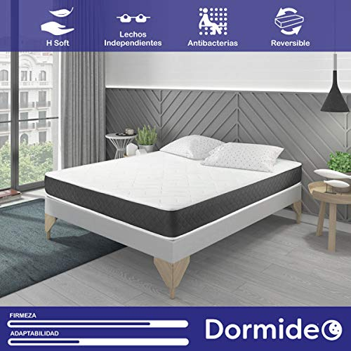DORMIDEO Visco Basic - Colchón Viscoelástico, Higiénico y Transpirable 80x200