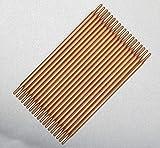 Spot Welding Needle,1 Pair of 3x50mm Japan Aluminum Oxide Copper Spot Welding Tip for Spot Wedling Welder (350mm Cone Type)