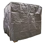 4 Ft. x 5 Ft. x 4 Ft. Heavy Duty Silver Poly Pallet Cover