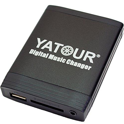 Yatour YTM06-BM4H Adapter für USB, SD, AUX, kompatibel mit BMW E46, E39, E38 E53 Z4 16:9 Navi Autoradio audio stereo