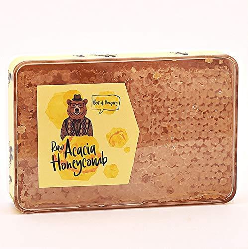 Wabenstück in hocharomatischem Akazien-Honig aus Ungarn 210g - Great Taste Award Preisträger