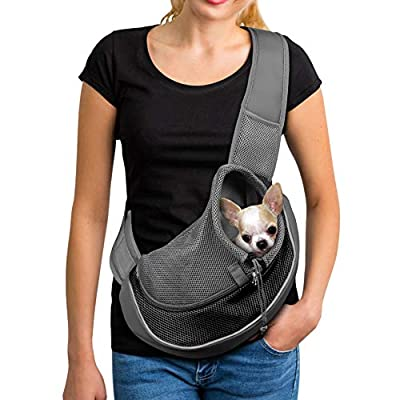 dog sling carrier for small dogs