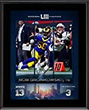 Rob Gronkowski New England Patriots 10.5'' x 13'' Super...