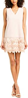 BCBGMAXAZRIA Women's Addilyn Fringe Dress
