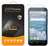 Supershieldz (2 Pack) for Alcatel Ideal Tempered Glass Screen Protector, Anti Scratch, Bubble Free