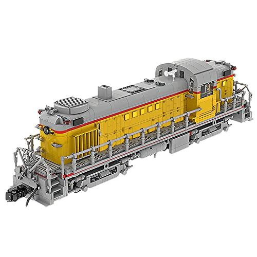 MKIU Juego De Bloques De Construcción De Trenes, Locomotora Diesel Alco Rs11...