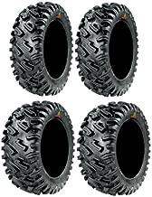 Full set of GBC Dirt Commander (8ply) 27x9-14 and 27x11-14 ATV Tires (4)