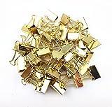 48 Stück Metall-Klammern, zum Verschließen (Goldene)