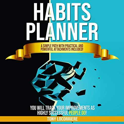 Habits Planner cover art