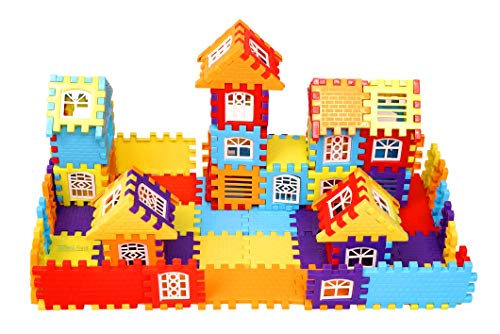 Techno Buzz Deal ® Interlocking Building Block Toys for Kids, Creativity and Educational Building Toy for Children (72 pcs)