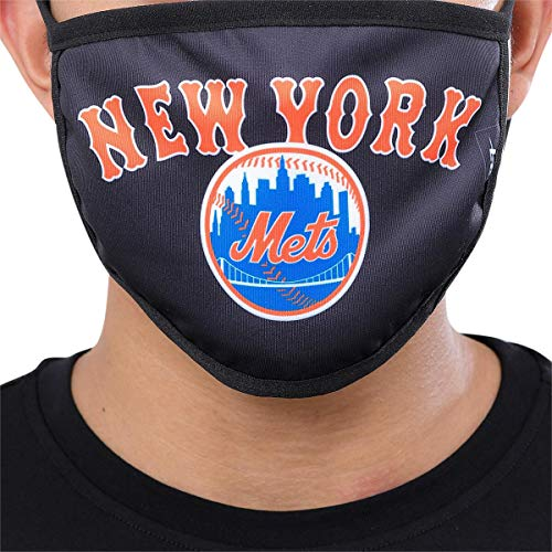 Pro Standard Adult New York MLB Fashion Mouth Cover, Black