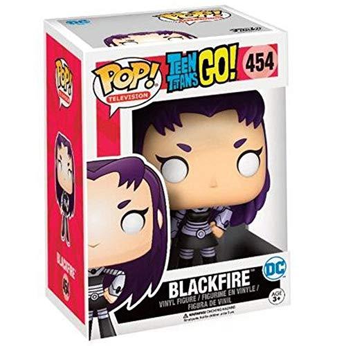 Funko 599386031Figurine DCBlackFire des Teens Titans