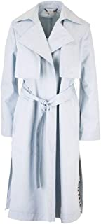 STELLA MCCARTNEY Luxury Fashion Womens 599857SOA094900 Light Blue Trench Coat |