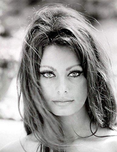 Sophia Loren Beautiful Face and Eyes Photo Art Hollywood Movie Star Photos Artwork 8x10