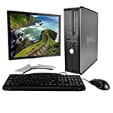 Dell Desktop Complete Computer Package with Windows 10 Home C2D 2.2G, 4G, 160G, DVD,W10H64,WIFI, 22 LCD (Brand May Vary) (Renewed) (4G/160G+22inLCD)