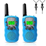 Walkie Talkies for Kids, Walkie Talkies Long Range 3 Miles 22 Channels 2 Way Radio Toys for Boys and Girls Outdoor Adventures, Camping, Hiking,Party