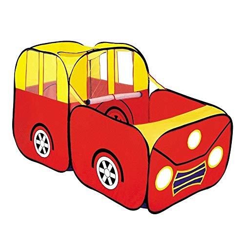 JISHIYU Kids Tent Car Foldable Children Play Tent Car Crawling Kids Toy Playhouse Indoor or Outdoor Garden Boys & Girls Children tent