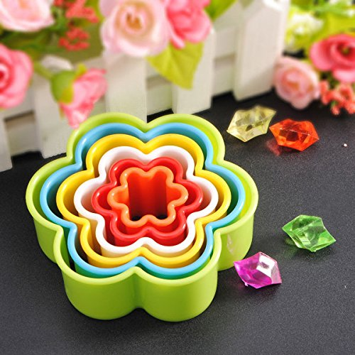 Bazaar Prune fleur en relief fruits de coupe coupe légumes cookie moule