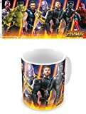 Grupo Erik Los Vengadores Infinity War Marvel Taza Desayuno, Cerámica, Multicolor, 9.5x8x8 cm
