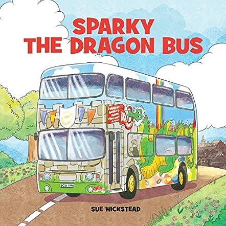 Sparky the Dragon Bus