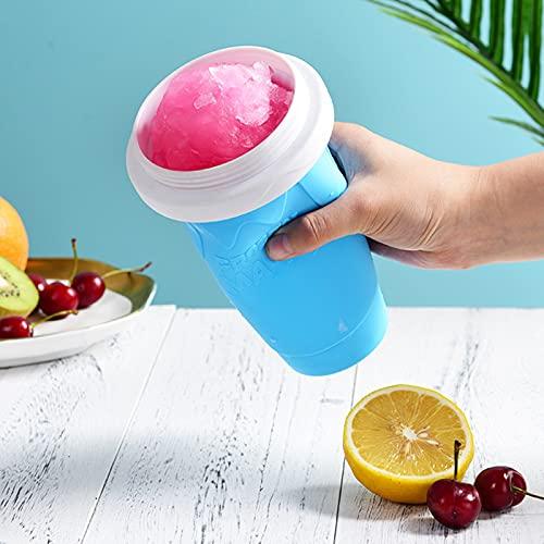 Slush Ice Maker|Slush Ice Becher, Einfach EIS Selber Machen, Slushy Maker Becher Slushy Mug Slush Maker Freeze Becher Für Wassereis In Sekunden Suit -25℃~60℃ (Blau)