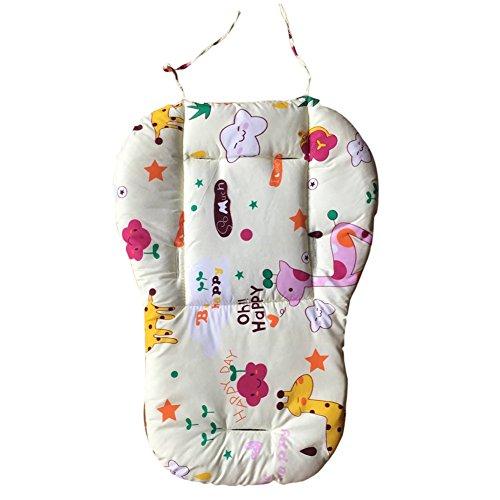 Yehapp Colchoneta Silla de Paseo Bebe niños coche paraguas coche algodón cojín silla comedor