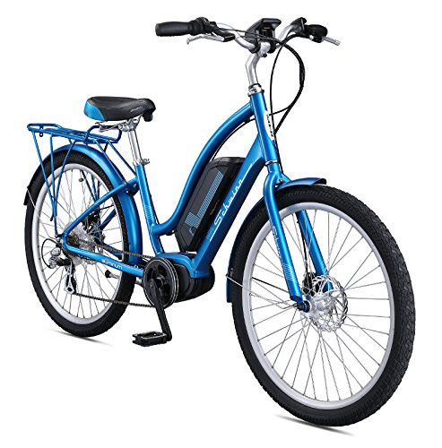 Schwinn Constance 250 Watt mid-Drive eBike - 7 speeds Mens/Womens Cruiser