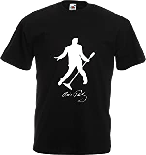 Camisetas Hombre Me Encanta el King of Rock and Roll, 50s, 60s, 70s, Music Fan