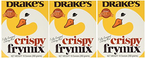 Drake's Crispy Frymix 10oz Box, Pack of 3