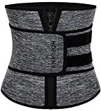 HOPLYNN Neoprene Sweat Waist Trainer Corset Trimmer Belt for Women Weight Loss, Waist Cincher Shaper...