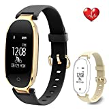 Flenco Fitness Tracker Heart Rate Monitor Activity Tracker Waterproof Smart Bracelet Health Sport