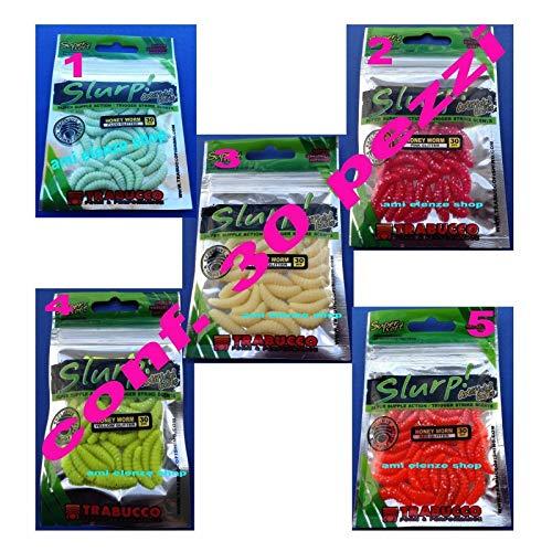 Generico camole Artificiali camola Pesca Trota Esche Lago finte Gomma Silicone (5)