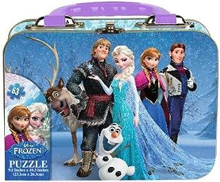 Frozen Mini Puzzle Tin with Handle (63-Piece)