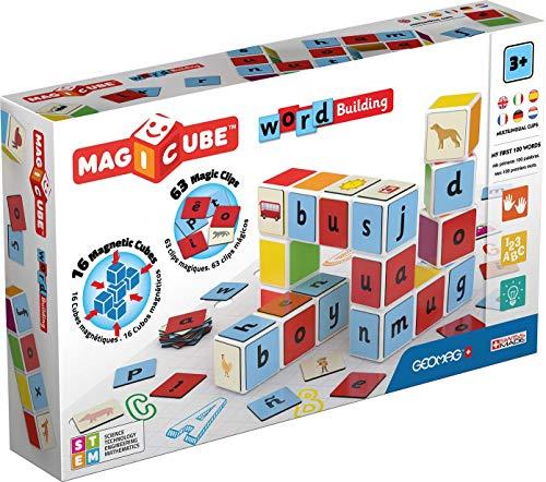 Geomag Magicube Word Building