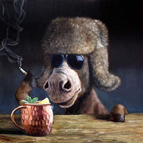 Moscow Mule by Lucia Heffernan Art Print 20 x 20 inches product image