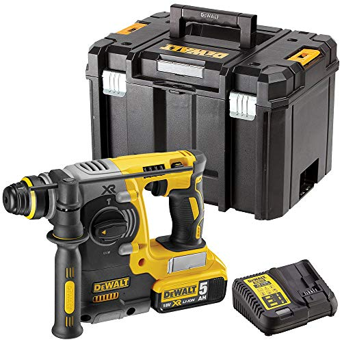 Dewalt DCH273N 18V SDS+ Rotary Hammer Drill with 1 x 5.0Ah Battery & Charger in Case