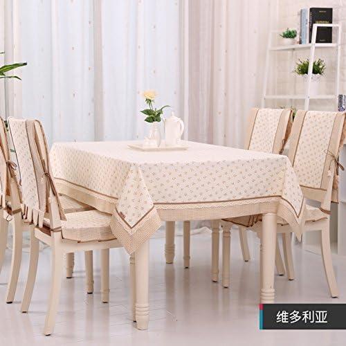 barato RUGAI-UE Mantel coreano elegante silla cojín Silla Pastoral Conjunto,Victoria,solo Conjunto,Victoria,solo Conjunto,Victoria,solo 150210cm.  venta con descuento