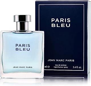 اسپری عطر و ادکلن Jean Marc Paris Paris Bleu Homme، 3.4 fl. اونس ، آبی