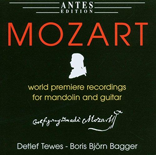 Mozart-Musik für Mandoline und Gitarre