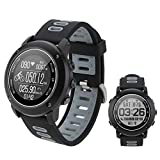 SinceY Montre Intelligente de Sport avec Boussole et GPS,Bluetooth 4.2 Smart Watch...