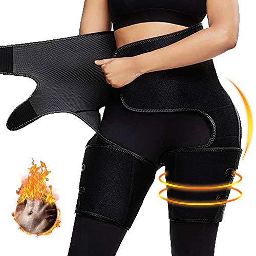 professional Nigecue Waist Trainer for Weight Loss for Women, 3 in 1 Waist Cincher Thigh Trimmer Bat Lifter,…