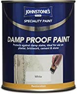 Johnstones Specialty Paints Damp Proof Paint White 750ml