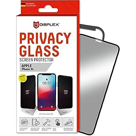 Displex Displayschutz Aus Privacy Glass 3d Für Apple Iphone 11 Xr Schwarz Elektronik