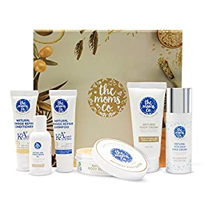 Ultimate Head to Toe Set - A Box of Nourishment for Skin & Hair with goodness of Cocoa, Shea Butter & 8 Powerful Oils